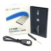 Case 2,5 HDD Sata USB 2.0 para notebook