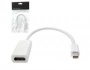 Conversor Mini DisplayPort Para HDMI Fêmea