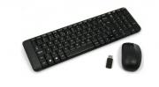 Kit teclado e mouse usb mk220 preto logitech
