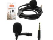 Microfone de Lapela Entrada P2