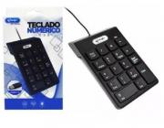 Teclado Numérico USB Knup KP-2003A