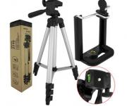 Tripé Para Celular e Câmera Profissional 1M 3110