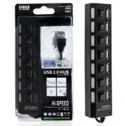 USB 2.0 HUB 7 Portas HI-Speed 500GB