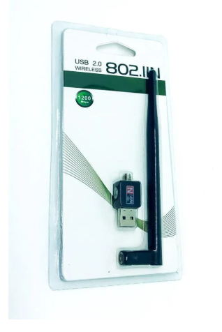 Adaptador Wireless 150 Mbps com Antena USB 2.0 802.11N