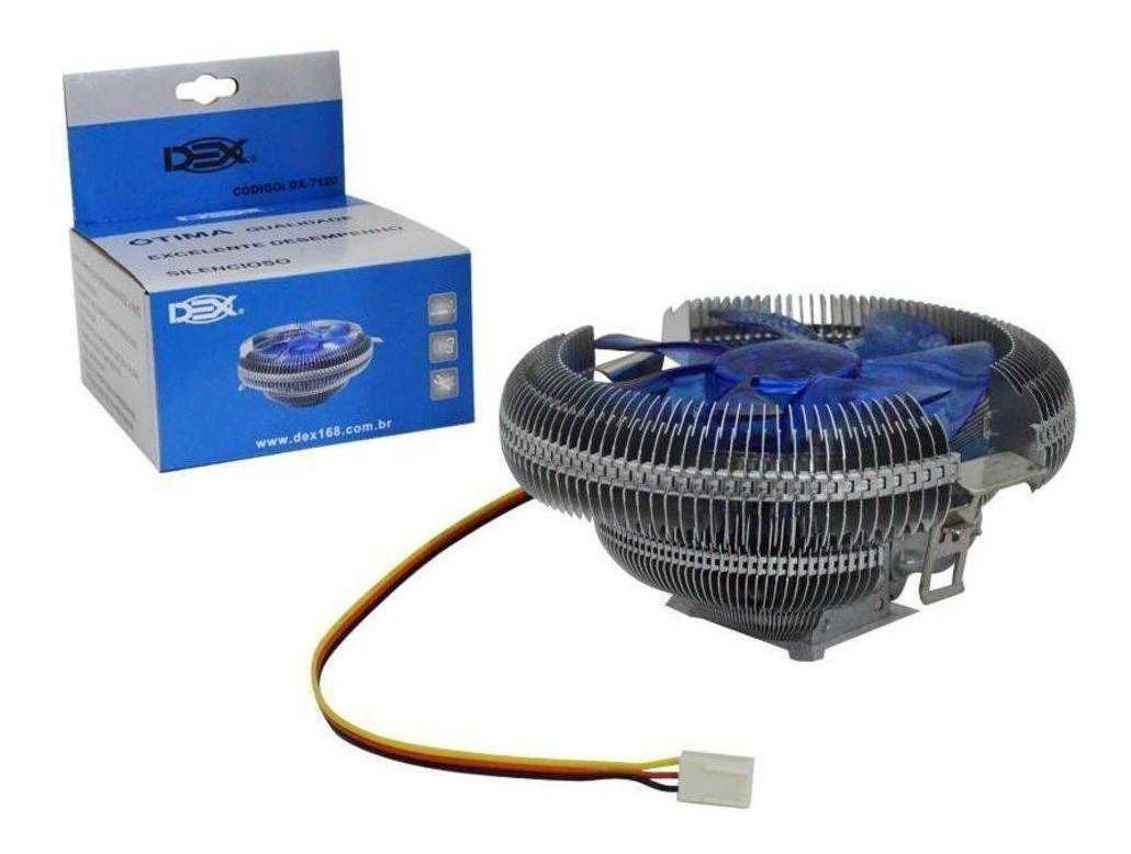 Cooler Universal P/cpu Intel Soquete / Amd Soquete Dx-7120