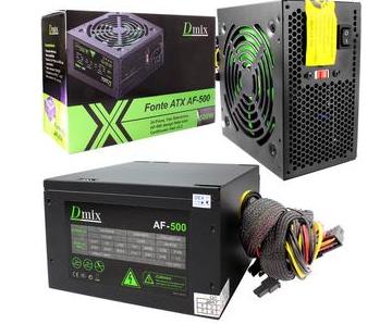 Fonte ATX AF-500 Dmix 500W