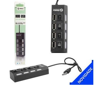 HUB USB 2.0 Alta-Velocidade Shinka