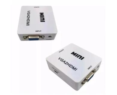 Mini Conversor VGA para HDMI 1080P
