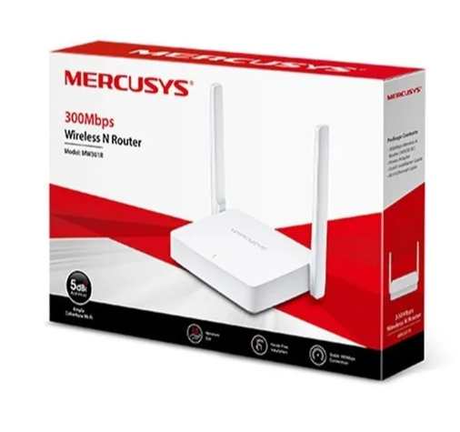 Roteador Mercusys Mw301r 300mbps