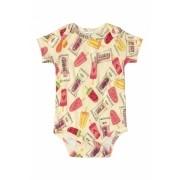 Body Manga Curta Picolé Up Baby