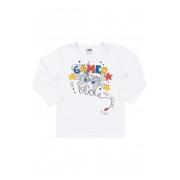 Camiseta Manga Longa Video Game Branca Marlan