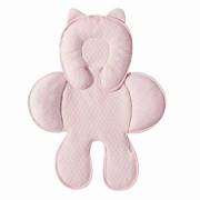 Capa Anatômica Bebê Conforto Matelado Batistela Baby Rosa M008