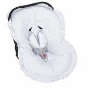 Capa Bebê Conforto Ajustável Estampada 3 Peças - Estrelinha Batistela Baby