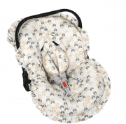 Capa Bebê Conforto Ajustável Estampada 3 Peças - Savannah Batistela Baby
