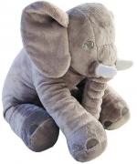 Elefante Pelúcia Cinza WU