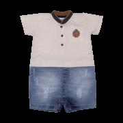 Macacão Curto Malha/Jeans The Best Sonho Mágico