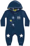 Macacão Manga Longa Desenho Espacial Kiko Baby