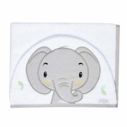 Toalha de Banho Bichinhos - Elefante Batistela Baby