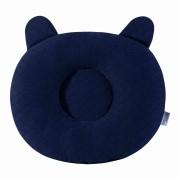Travesseiro Anatômico Matelado Azul Marinho Batistela Baby