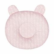 Travesseiro Anatômico - Raminho Rosa Batistela Baby