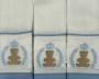 Fralda De Boca- Ursinho Coroa e Ramos Azul Claro Bilu Teteia