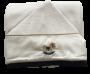 Toalha Felpuda Com Capuz Cavalinho de Pau Azul Marinho  Bilú Tetéia
