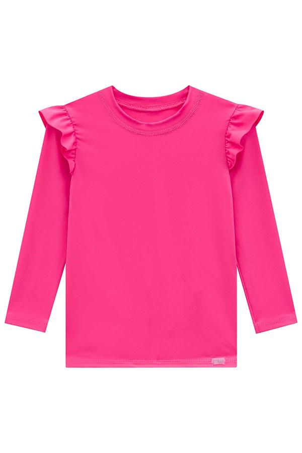 Blusa em Malha Dry Rosa - Kukie