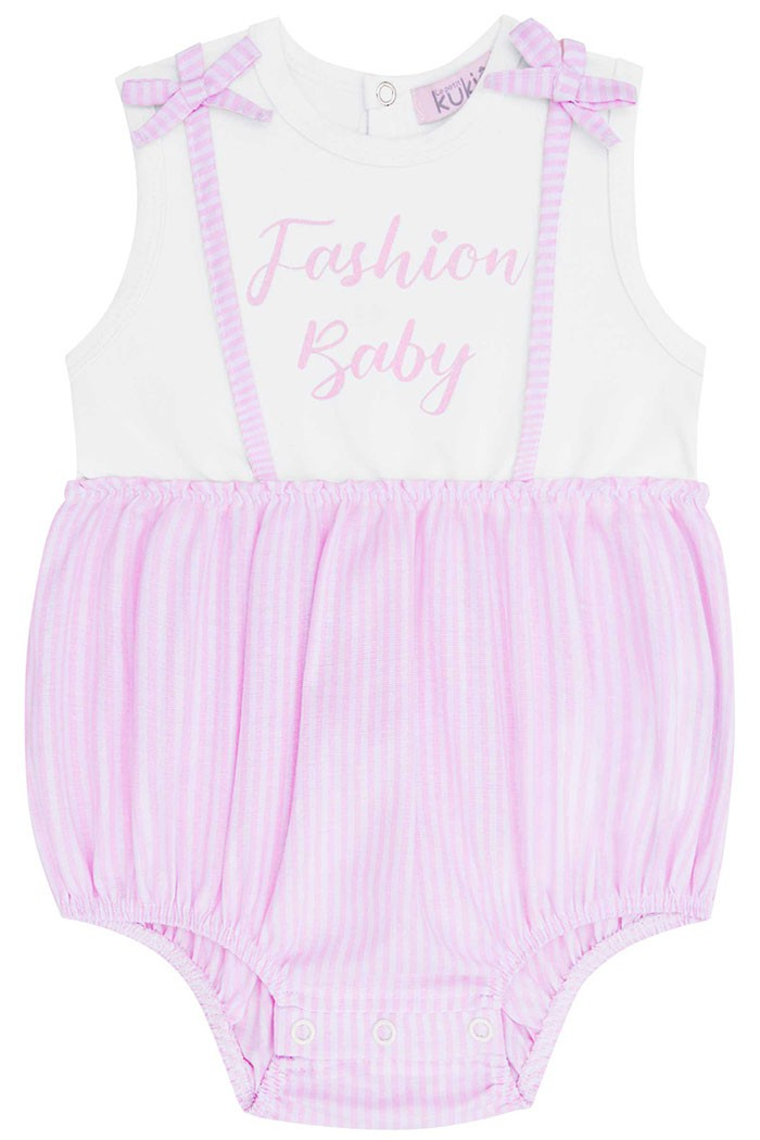 Body Regata Cotton e Tricoline Fashion Baby – Kukie