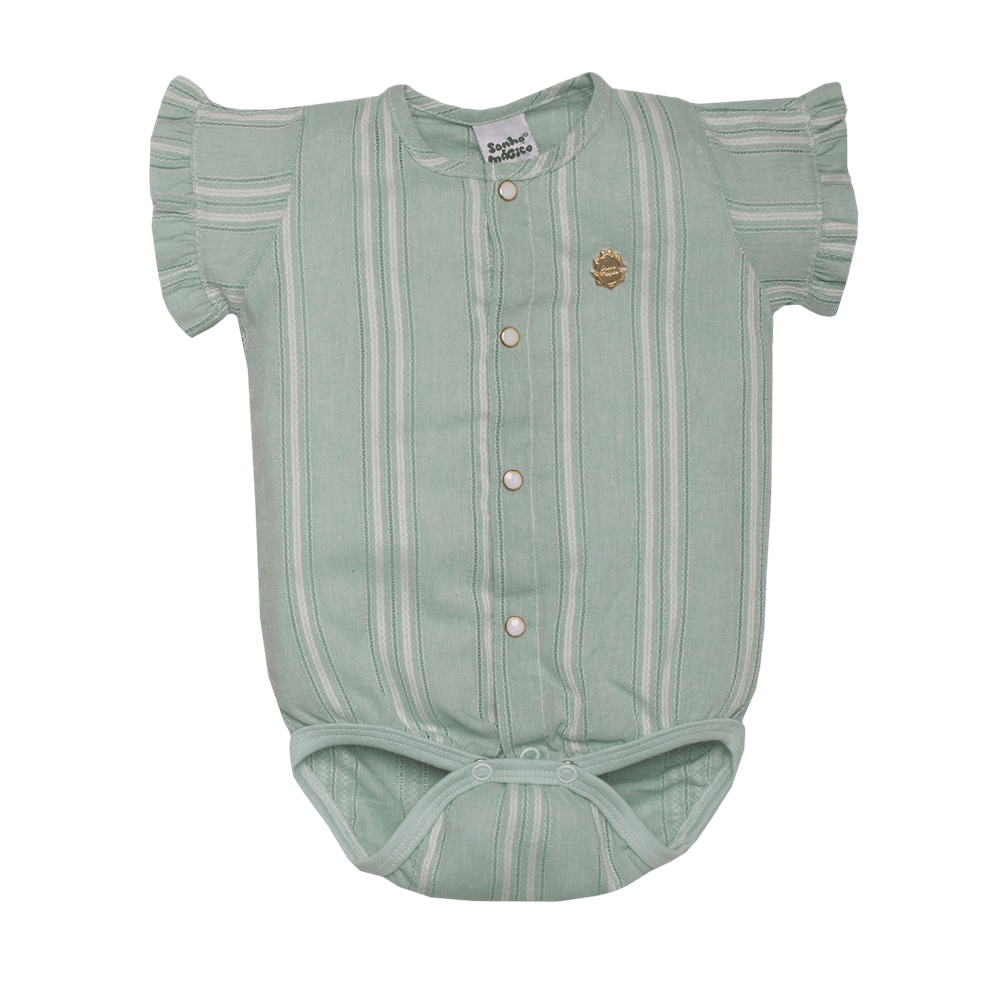 Body Tecido Crystal SM Verde