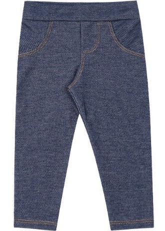 Calça Molecotton Jeans Azul Marinho Kiko Baby