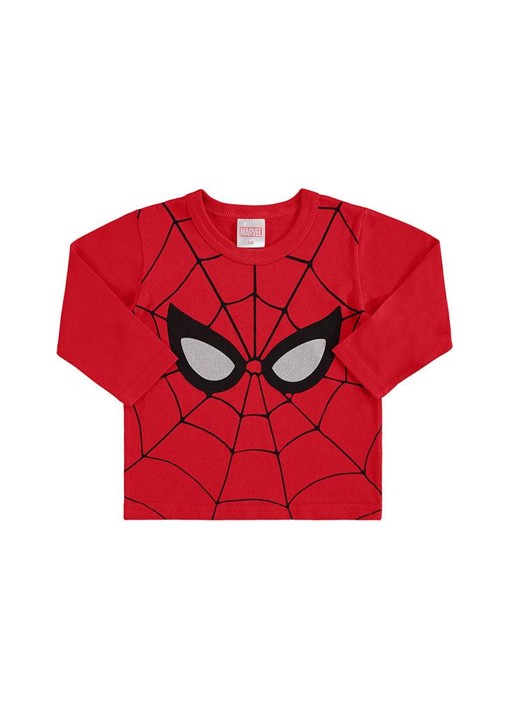 Camiseta Manga Longa Homem Aranha Marlan