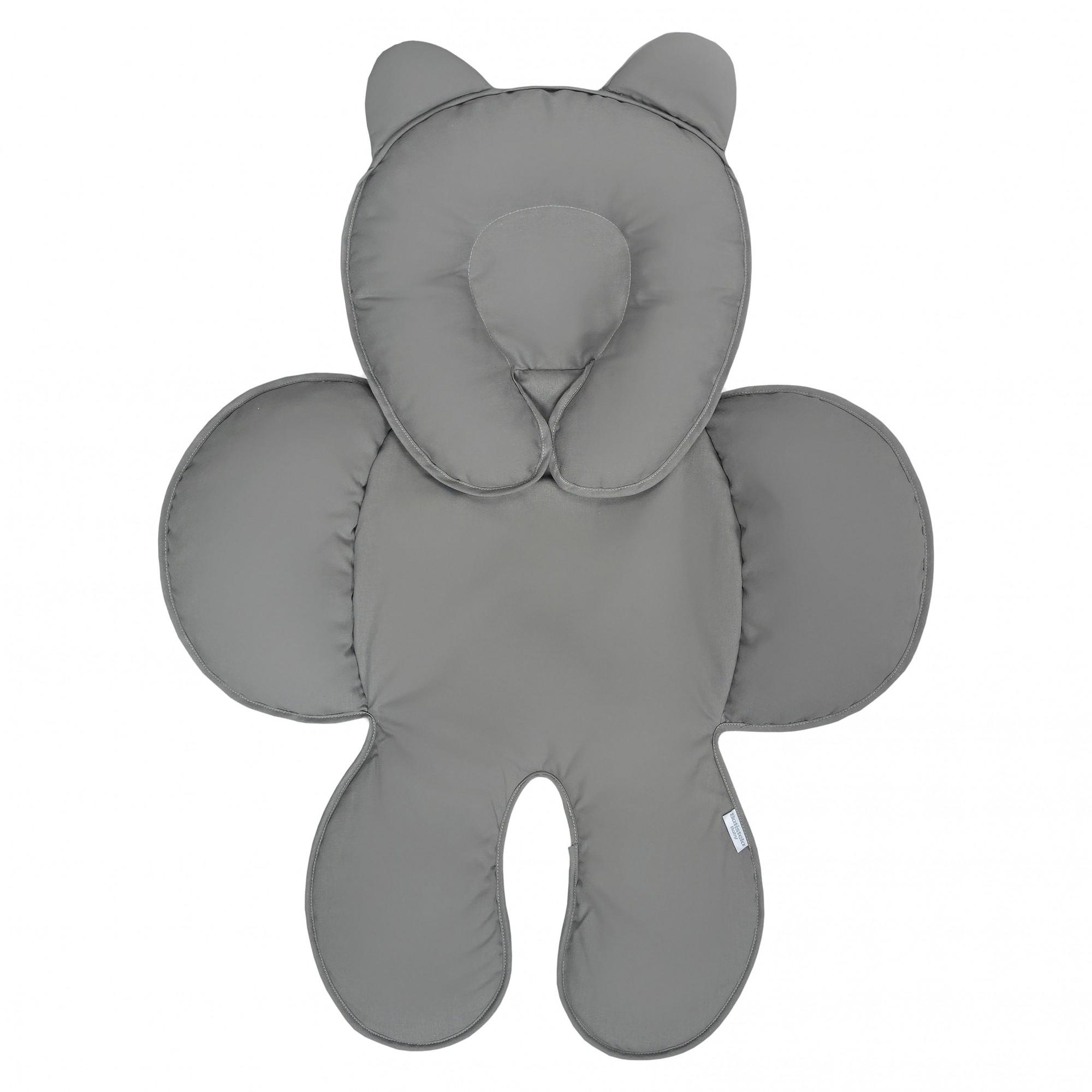 Capa Anatômica Bebê Conforto - Chumbo Batistela Baby