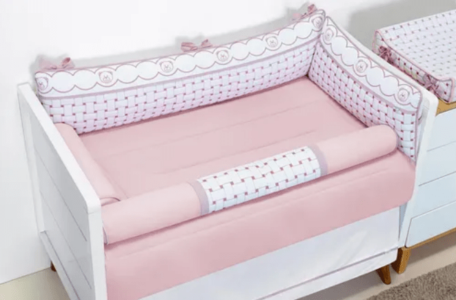 Kit Berço Classic Rosê Batistela Baby
