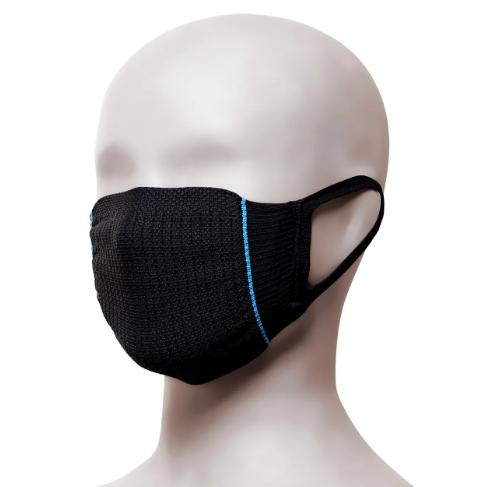 Kit Máscara Lupo Com 2 Unidades Preta De 7 a 12 Anos Lupo