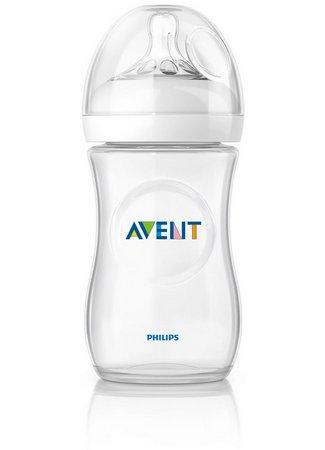 Mamadeira Pétala Transparente Philips Avent 330 ml