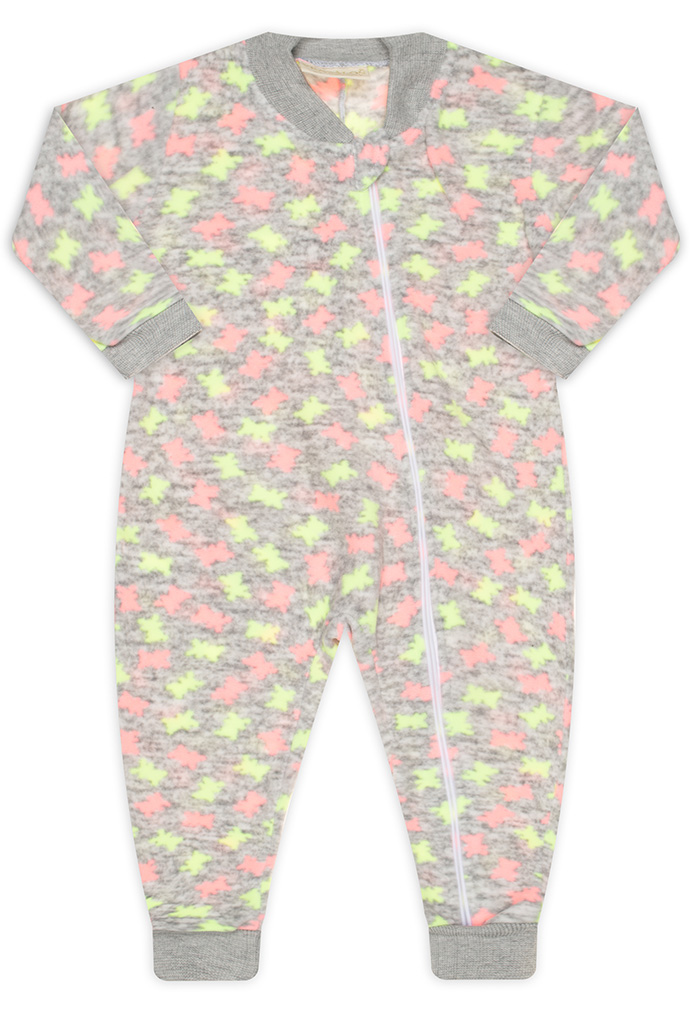 Pijama Macacão Neon Vrasalon