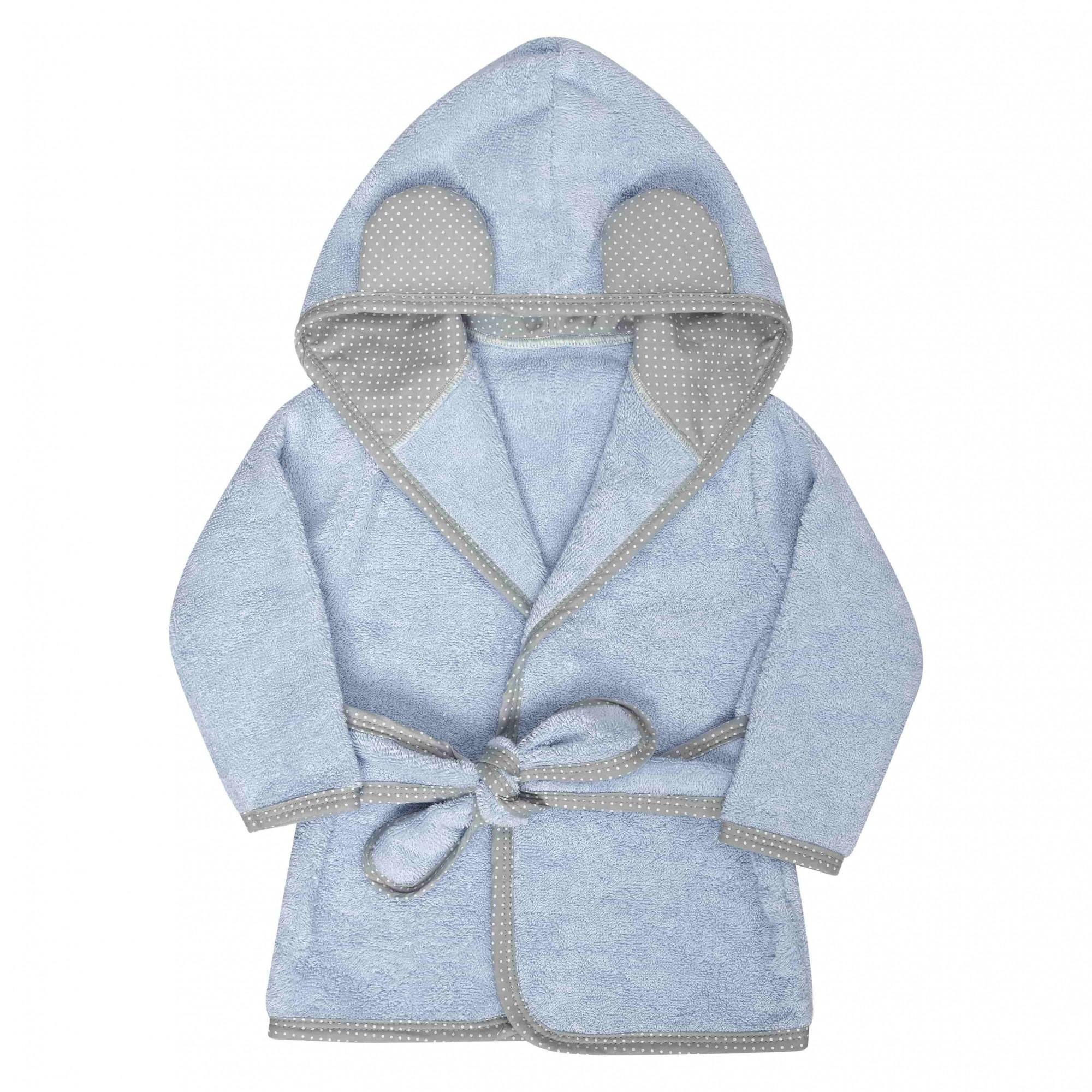 Roupão Infantil Azul Batistela Baby