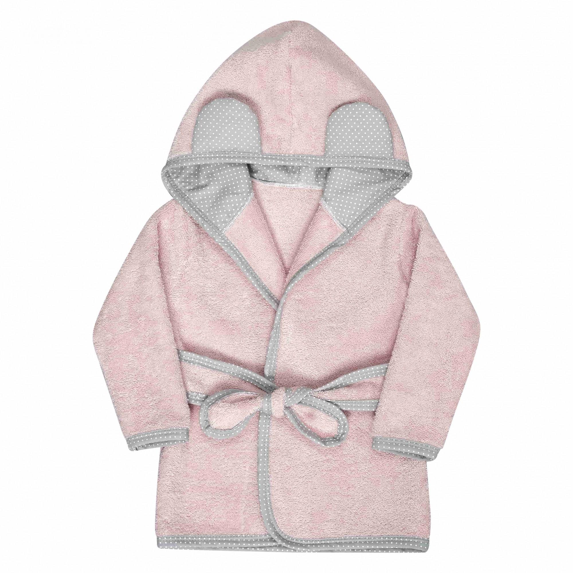 Roupão Infantil Rosê Batistela Baby