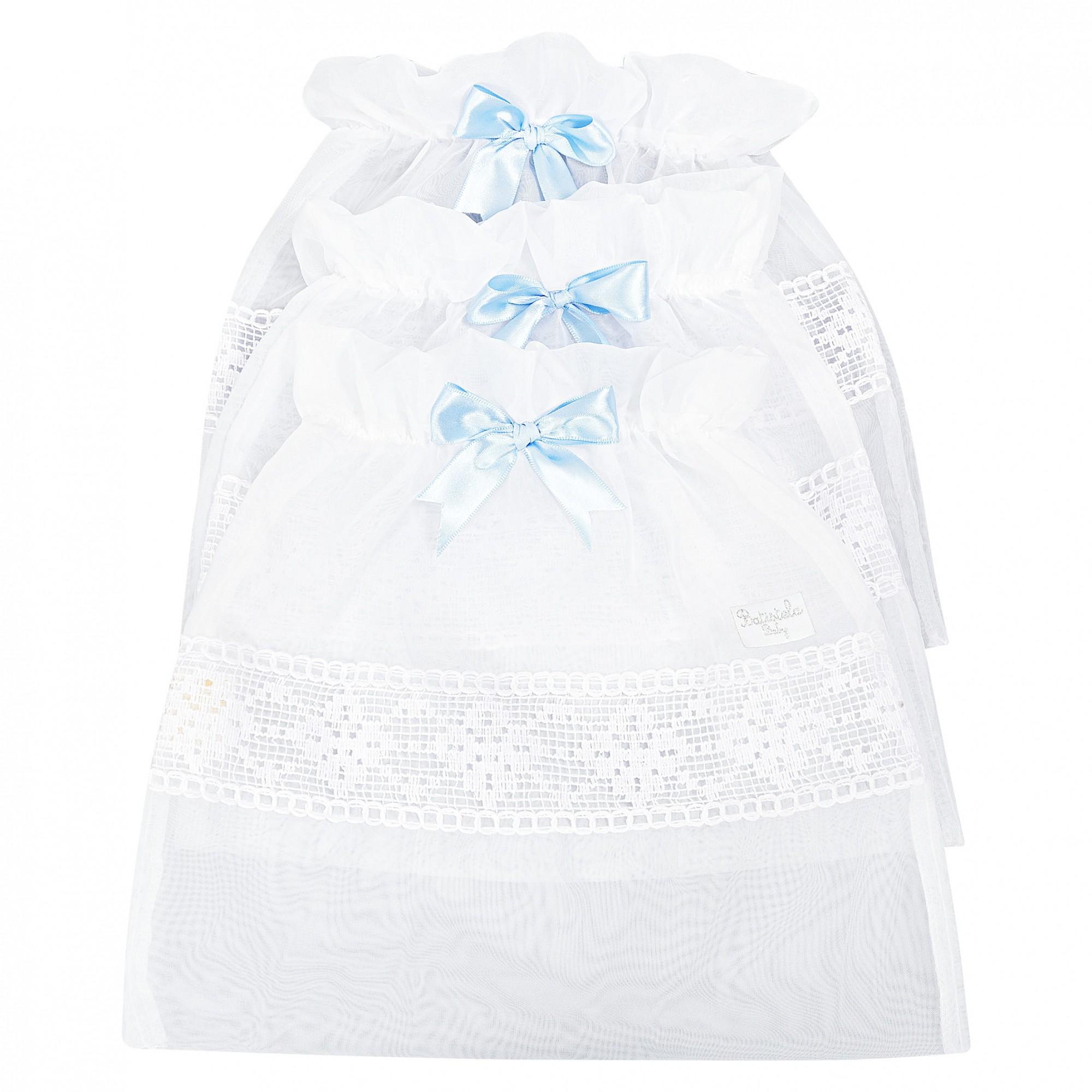 Saquinho Maternidade 3 Peças - Azul Batistela Baby