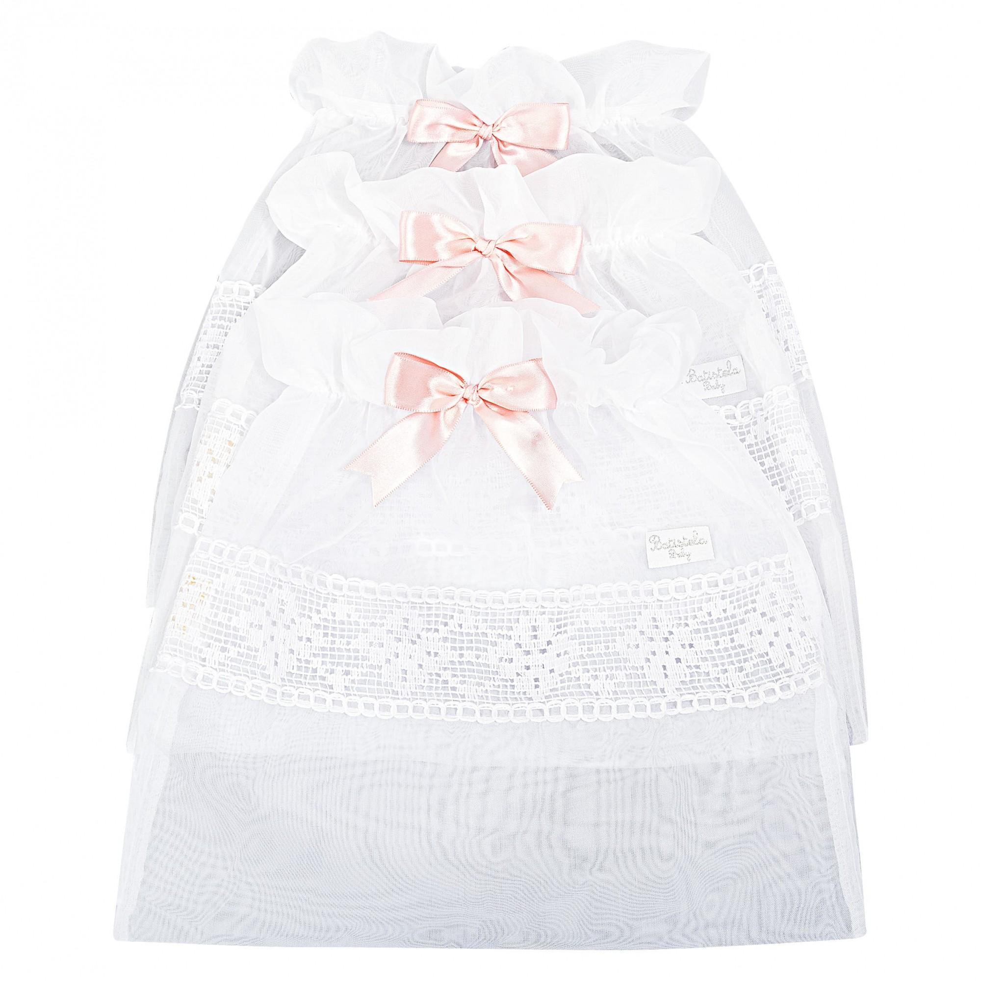Saquinho Maternidade 3 Peças - Rosa Batistela Baby