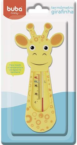 Termômetro de Banho Buba Girafinha- Laranja