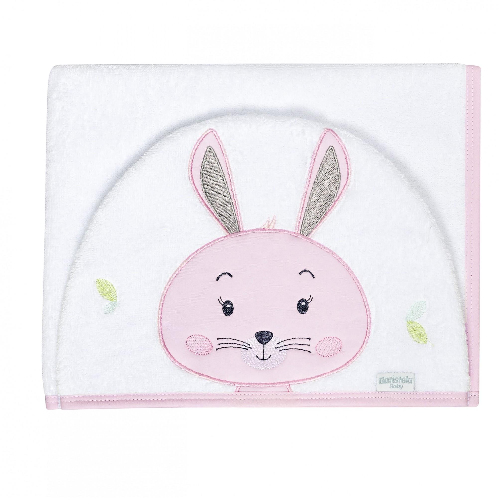Toalha de Banho Bichinhos - Coelha Batistela Baby