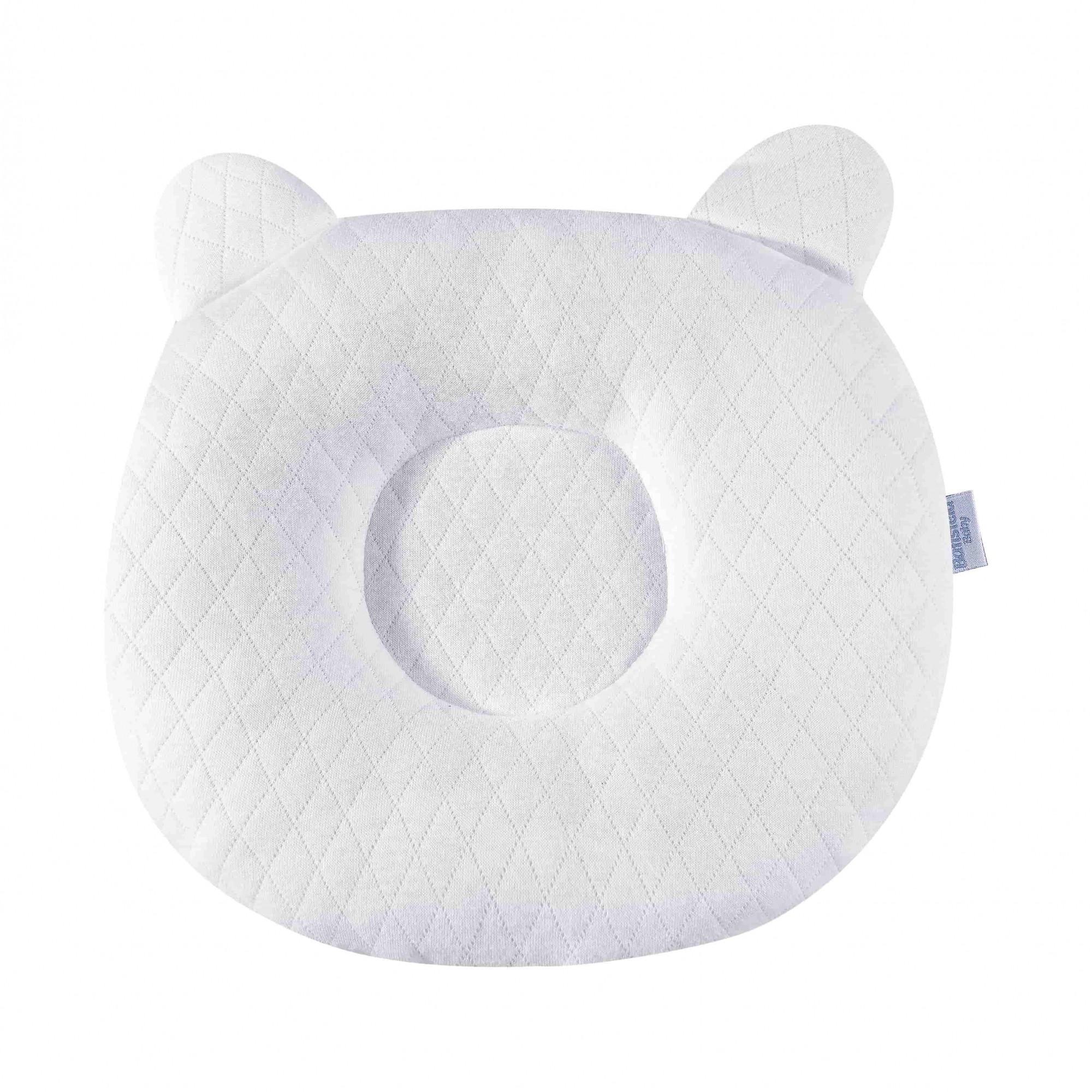 Travesseiro Anatômico Matelado - Branco Batistela Baby