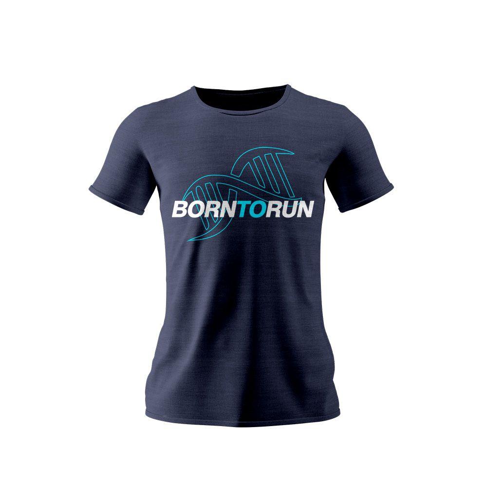Camisa Born To Run DNA