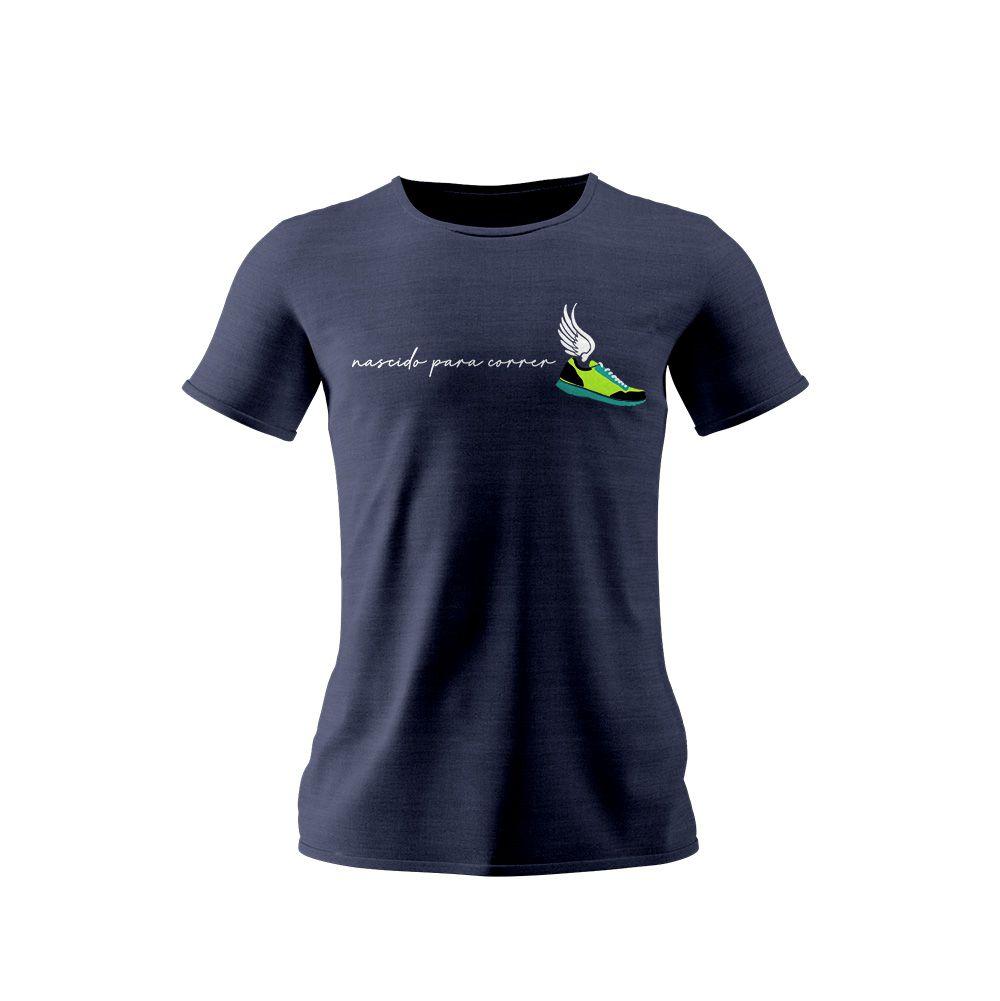 Camisa Nascido para Correr
