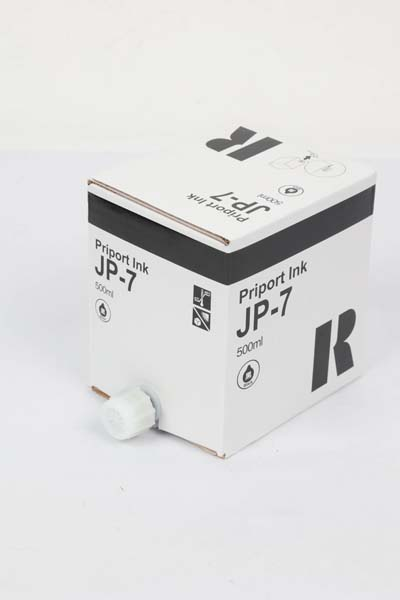Cartucho de Tinta Compatível Preto p/ Duplicador JP7 - 500ml