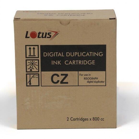 Cartucho de Tinta Compatível Lotus BK p/ Duplicador Digital CZ - 800ml