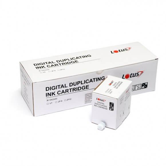 Cartucho de Tinta Lotus DX2330 Preto p Duplicador Ricoh cx5
