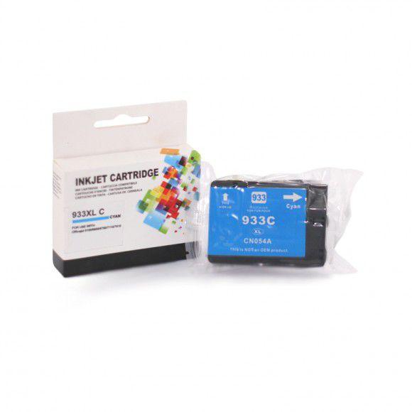Cartucho de Tinta Compatível HP933 CN058A Ciano p/ HP