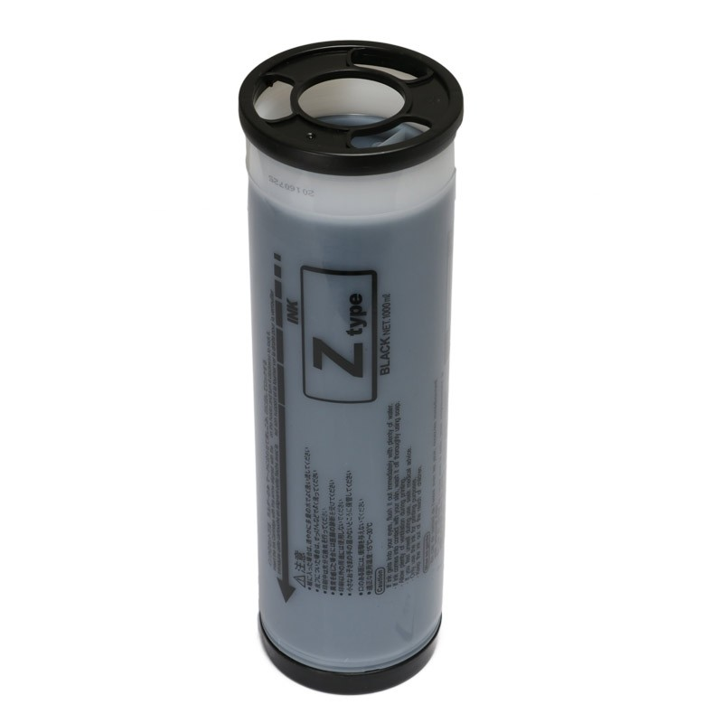 Tinta Compatível Preta p/ Duplicador EZ RZ - 1000ml (Kit c/2)